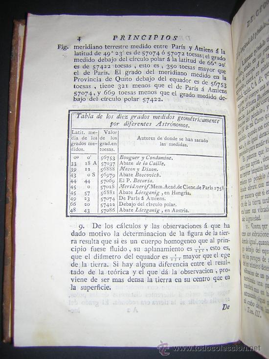 Libros antiguos: 1776 - BENITO BAILS - PRINCIPIOS DE MATEMATICA - TOMO III: ARQUITECTURA, PERSPECTIVA - 30 LAMINAS - Foto 8 - 27456955