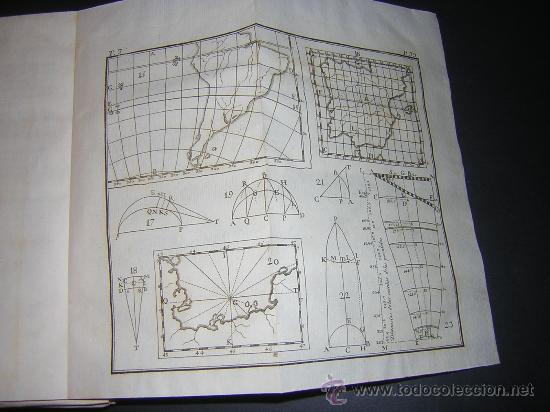 Libros antiguos: 1776 - BENITO BAILS - PRINCIPIOS DE MATEMATICA - TOMO III: ARQUITECTURA, PERSPECTIVA - 30 LAMINAS - Foto 9 - 27456955