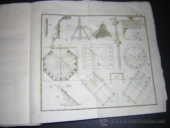 Libros antiguos: 1776 - BENITO BAILS - PRINCIPIOS DE MATEMATICA - TOMO III: ARQUITECTURA, PERSPECTIVA - 30 LAMINAS - Foto 10 - 27456955