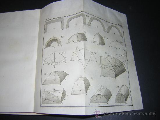Libros antiguos: 1776 - BENITO BAILS - PRINCIPIOS DE MATEMATICA - TOMO III: ARQUITECTURA, PERSPECTIVA - 30 LAMINAS - Foto 16 - 27456955