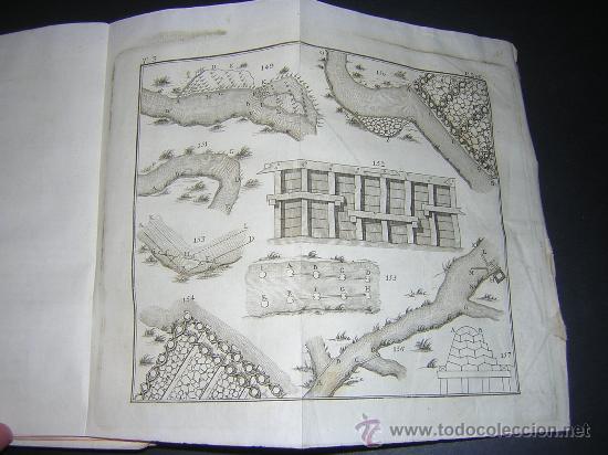 Libros antiguos: 1776 - BENITO BAILS - PRINCIPIOS DE MATEMATICA - TOMO III: ARQUITECTURA, PERSPECTIVA - 30 LAMINAS - Foto 17 - 27456955
