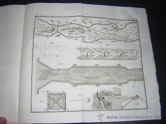 Libros antiguos: 1776 - BENITO BAILS - PRINCIPIOS DE MATEMATICA - TOMO III: ARQUITECTURA, PERSPECTIVA - 30 LAMINAS - Foto 18 - 27456955