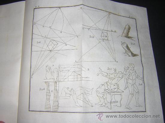 Libros antiguos: 1776 - BENITO BAILS - PRINCIPIOS DE MATEMATICA - TOMO III: ARQUITECTURA, PERSPECTIVA - 30 LAMINAS - Foto 19 - 27456955