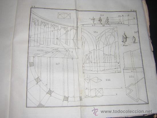 Libros antiguos: 1776 - BENITO BAILS - PRINCIPIOS DE MATEMATICA - TOMO III: ARQUITECTURA, PERSPECTIVA - 30 LAMINAS - Foto 22 - 27456955