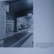 Libros antiguos: SEVILLA.CERVECERIA TOMAS ,CALLE SIERPES.1934.ARQUITECTO J GALNAREZ 2 PG. Lote 28328649