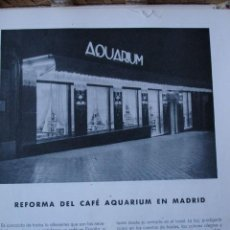 Libros antiguos: MADRID CAFE AQUARIUM CALLE ALCALA.PG 505-517. Lote 28336014