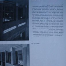 Libros antiguos: MADRID EXPOSICION AUTOMOBILES DE SOTO PLYMOUTH.ARQUITECTO PEDRO ARALUCE 1H. Lote 28336027