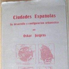 Libros antiguos: CIUDADES ESPAÑOLAS. HAMBURGO 1926. ENVIO CERTIFICADO GRATIS¡¡¡. Lote 28580135