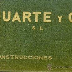 Libros antiguos: HUARTE Y CIA S.L. PUENTE DE PUERTA DE HIERRO SOBRE EL MANZANARES. ALBUM. AÑO 1935. MAGERIT. Lote 28641179