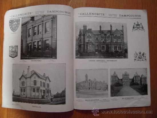 Libros antiguos: Catálogo GEORGE M. CALLENDER – 1909? * CALLENDRITE * AISLAMIENTO * IMPERMIABILIZACIÓN * - Foto 2 - 29639744