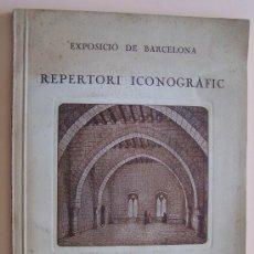 Libros antiguos: BARCELONA 1923 ICONOGRAFIA : INTERIORES DE HABITACIONES DEL S. XIII AL XIX * 50 LAMINAS FOTOGRAFICAS. Lote 29905468