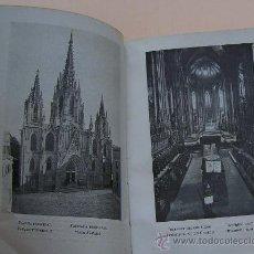 Libros antiguos: CATALUNYA ARTISTICA CATEDRAL DE BARCELONA 1929 CON 64 FOTOGRAFIAS A TODA PAGINA . Lote 29905779