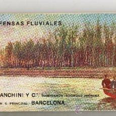 Libros antiguos: DEFENSAS FLUVIALES .A.BIANCHINI Y C .INGENIEROS SOCIEDAD ANONIMA. Lote 30317371