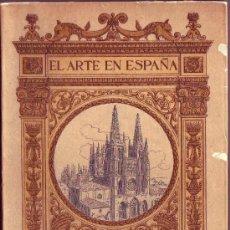 Libros antiguos: CATEDRAL DE BURGOS. CUARENTA Y OCHO ILUSTRACIONES CON TEXTO DE D. VICENTE LAMPÉREZ Y ROMEA. . Lote 30406130
