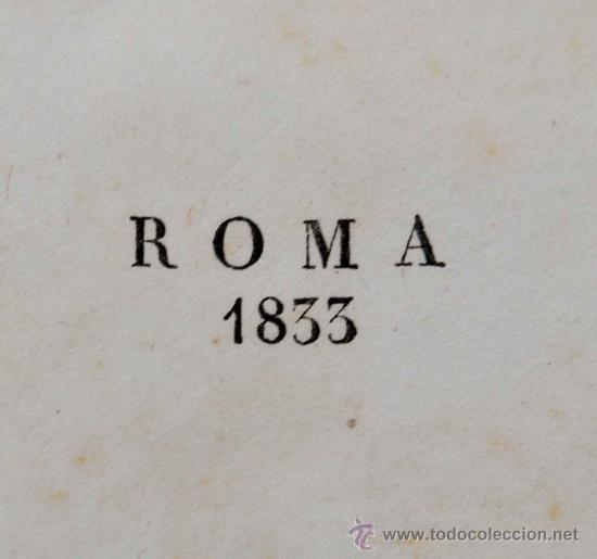 Libros antiguos: DESCRIZIONE DEL CAMPIDOGLIO DE RIGHETTI PIETRO. 2 VOLUMI. 1833 e 1836. di museo! - Foto 35 - 30412909