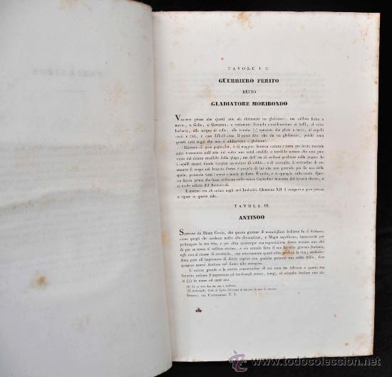 Libros antiguos: DESCRIZIONE DEL CAMPIDOGLIO DE RIGHETTI PIETRO. 2 VOLUMI. 1833 e 1836. di museo! - Foto 33 - 30412909