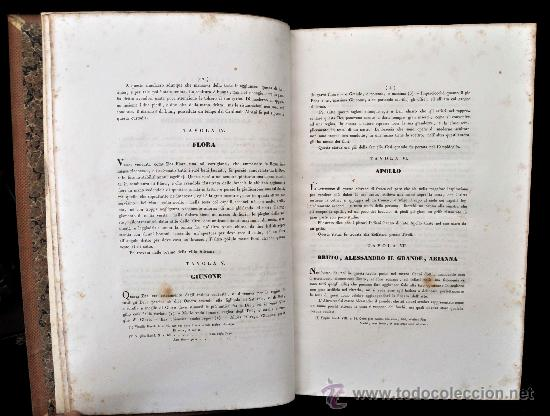 Libros antiguos: DESCRIZIONE DEL CAMPIDOGLIO DE RIGHETTI PIETRO. 2 VOLUMI. 1833 e 1836. di museo! - Foto 32 - 30412909