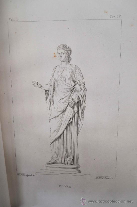 Libros antiguos: DESCRIZIONE DEL CAMPIDOGLIO DE RIGHETTI PIETRO. 2 VOLUMI. 1833 e 1836. di museo! - Foto 29 - 30412909