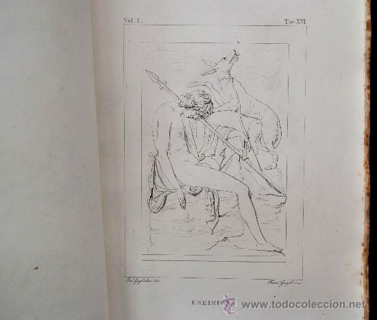 Libros antiguos: DESCRIZIONE DEL CAMPIDOGLIO DE RIGHETTI PIETRO. 2 VOLUMI. 1833 e 1836. di museo! - Foto 27 - 30412909