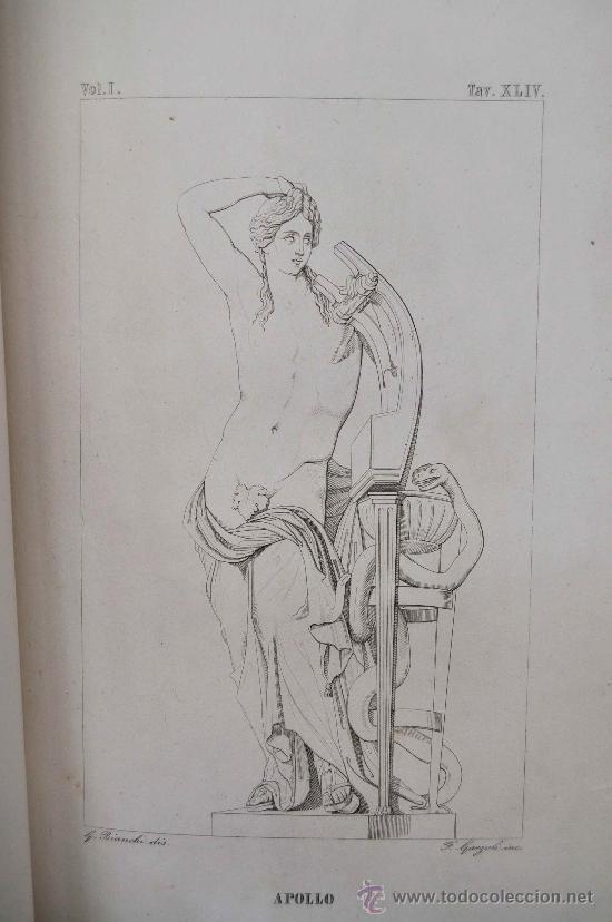 Libros antiguos: DESCRIZIONE DEL CAMPIDOGLIO DE RIGHETTI PIETRO. 2 VOLUMI. 1833 e 1836. di museo! - Foto 22 - 30412909