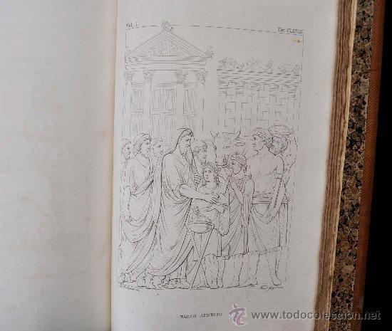 Libros antiguos: DESCRIZIONE DEL CAMPIDOGLIO DE RIGHETTI PIETRO. 2 VOLUMI. 1833 e 1836. di museo! - Foto 18 - 30412909