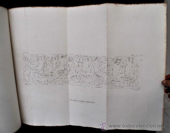 Libros antiguos: DESCRIZIONE DEL CAMPIDOGLIO DE RIGHETTI PIETRO. 2 VOLUMI. 1833 e 1836. di museo! - Foto 7 - 30412909