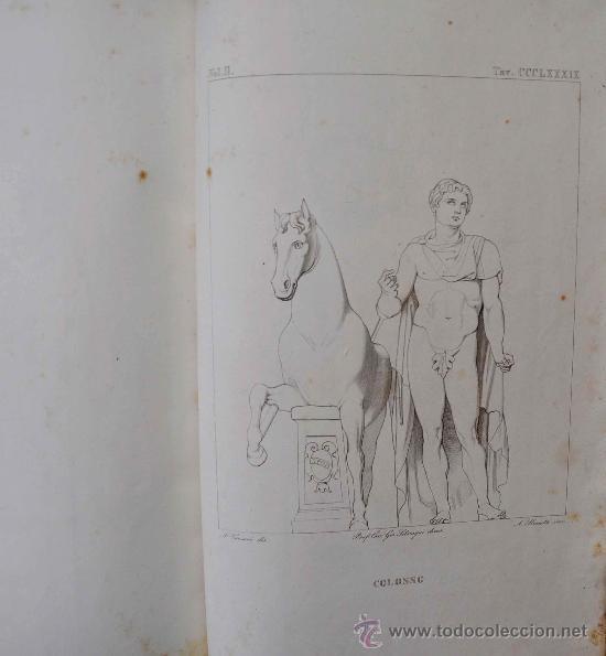 Libros antiguos: DESCRIZIONE DEL CAMPIDOGLIO DE RIGHETTI PIETRO. 2 VOLUMI. 1833 e 1836. di museo! - Foto 6 - 30412909