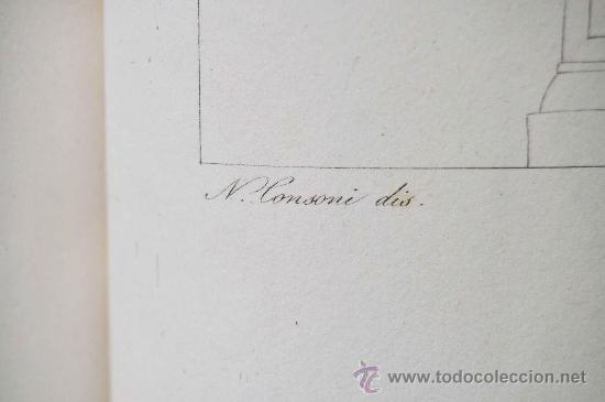 Libros antiguos: DESCRIZIONE DEL CAMPIDOGLIO DE RIGHETTI PIETRO. 2 VOLUMI. 1833 e 1836. di museo! - Foto 5 - 30412909