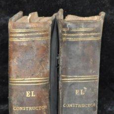Libros antiguos: EL CONSTRUCTOR MODERNO. Lote 32292554