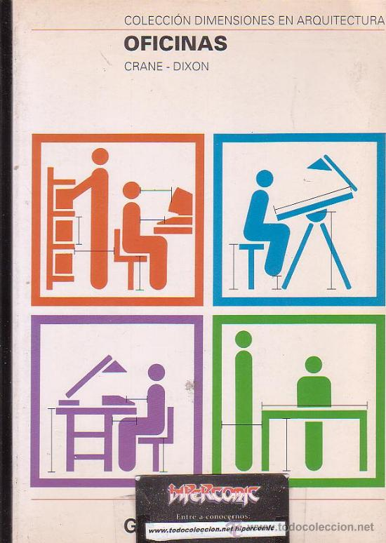 Colecci n dimensiones en arquitectura oficina comprar for Libro de dimensiones arquitectura