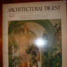 Libros antiguos: ARCHITECTURAL DIGEST,...AÑO 1974 THE CONNOISSEUR´S MAGAZINE OF FINE INTERIOR DESIGN. Lote 31350235