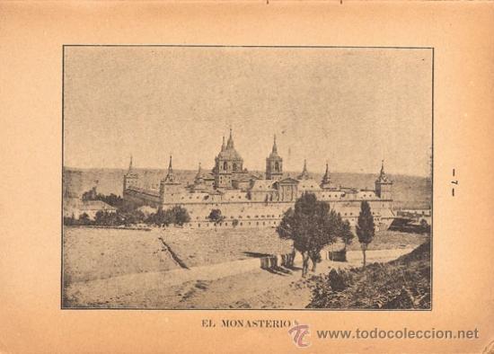 Libros antiguos: GUÍA HISTÓRICA Y DESCRIPTIVA SAN LORENZO DE EL ESCORIAL– Año 1907 - Foto 3 - 31411630