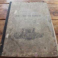 Libros antiguos: PLANCHAS GRABADOS: PROYECTOS GEOMETRIA Y PERSPECTIVA DE CARPINTERIA Y ARQUITECTURA - LEON JAMIN 1898. Lote 40330448