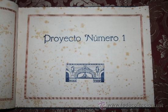 Libros antiguos: 1897- PRECIOSO ÁLBUM EDIFICIOS ESPECIALES PARA LA PROPIEDAD INDIVIDUAL DE PISOS POMAR HNOS - Foto 4 - 31904217