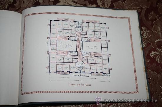Libros antiguos: 1897- PRECIOSO ÁLBUM EDIFICIOS ESPECIALES PARA LA PROPIEDAD INDIVIDUAL DE PISOS POMAR HNOS - Foto 9 - 31904217