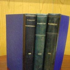 Libros antiguos: WASMUTHS MONATSHEFTE FÜR BAUKUNST. 3 TOMOS. AÑOS 1928-29-30. REVISTA ARQUITECTURA. Lote 32079677