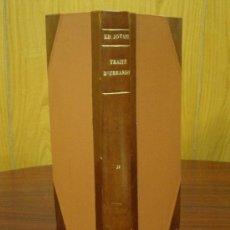 Libros antiguos: TRAITÉ D'URBANISME 1929 2ª PARTE ED. JOYANT. Lote 32079891