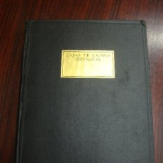 Libros antiguos: CASAS DE CAMPO ESPAÑOLAS. 1930 ALFREDO BAESCHLIN. EDIC. NUMERADA. Nº1194.. Lote 32125947