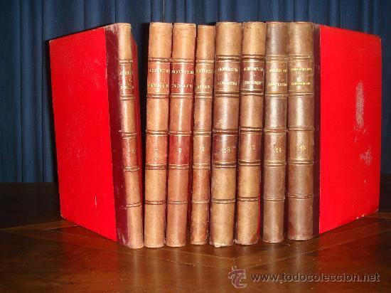 ARQUITECTURA Y CONSTRUCCION. 1902-1905 Y 1908-1911, 8 TOMOS, REVISTA MENSUAL (Libros Antiguos, Raros y Curiosos - Bellas artes, ocio y coleccion - Arquitectura)