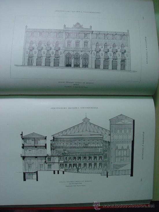 Libros antiguos: ARQUITECTURA Y CONSTRUCCION. 1902-1905 y 1908-1911, 8 Tomos, revista mensual - Foto 3 - 32332949