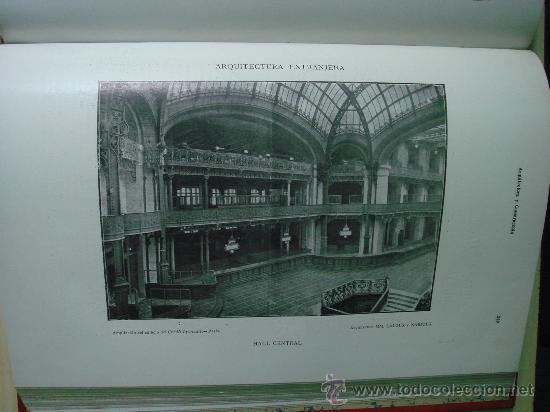 Libros antiguos: ARQUITECTURA Y CONSTRUCCION. 1902-1905 y 1908-1911, 8 Tomos, revista mensual - Foto 11 - 32332949
