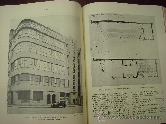 Libros antiguos: L ARCHITECTURE, 1934-37, 5 Tomos, revista mensual - Foto 5 - 32451017