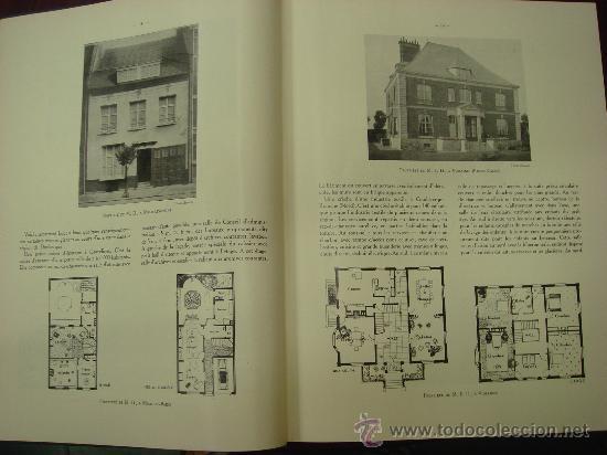 Libros antiguos: L ARCHITECTURE, 1934-37, 5 Tomos, revista mensual - Foto 9 - 32451017