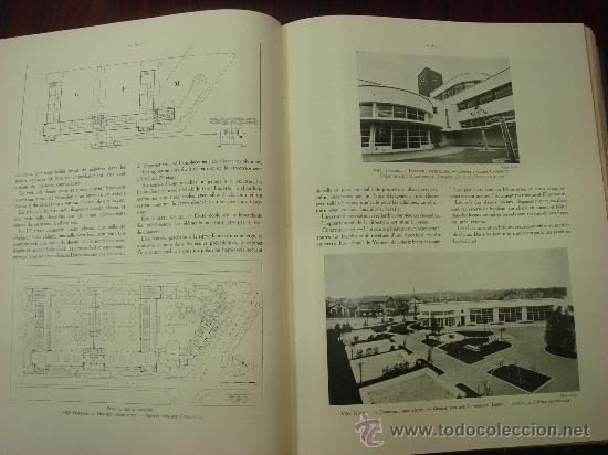Libros antiguos: L ARCHITECTURE, 1934-37, 5 Tomos, revista mensual - Foto 10 - 32451017