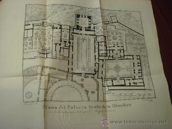 Libros antiguos: Monumentos árabes, La Alhambra, El Alcázar y la gran Mezquita de Occidente, 1878 - Foto 3 - 32450316