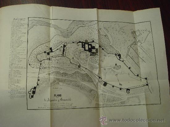 Libros antiguos: Monumentos árabes, La Alhambra, El Alcázar y la gran Mezquita de Occidente, 1878 - Foto 4 - 32450316