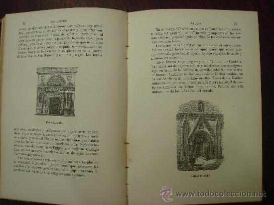 Libros antiguos: Monumentos árabes, La Alhambra, El Alcázar y la gran Mezquita de Occidente, 1878 - Foto 5 - 32450316