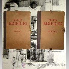 Libros antiguos: 1928 DOCUMENTOS DE ARQUITECTURA DE ESPAÑA 2 TOMOS MAS DE 100 LAMINAS - FRANCES . Lote 32572273
