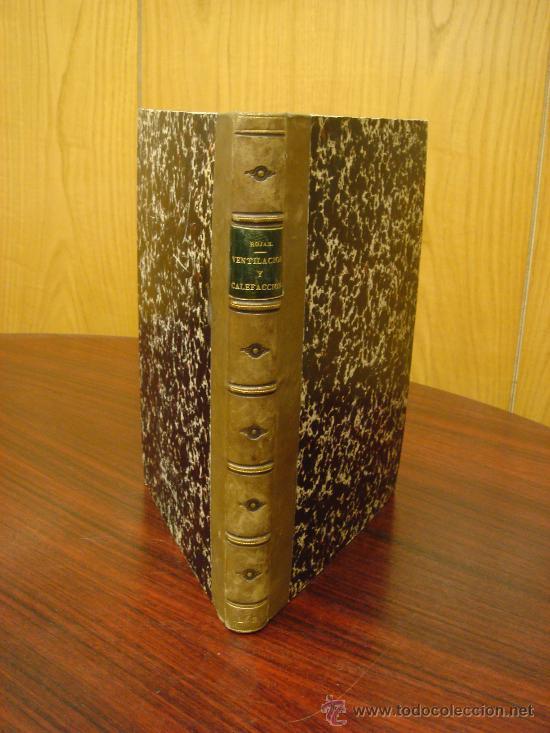 CALENTAMIENTO Y VENTILACION DE EDIFICIOS. 1868, (Libros Antiguos, Raros y Curiosos - Bellas artes, ocio y coleccion - Arquitectura)