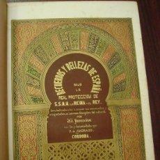 Libros antiguos: RECUERDOS Y BELLEZAS DE ESPAÑA: CORDOBA, 1855, LITOGRAFÍAS DE PARCERISA 1ª EDICIÓN. Lote 32706087